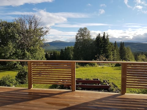 Studio with sauna and large terrace near Åre