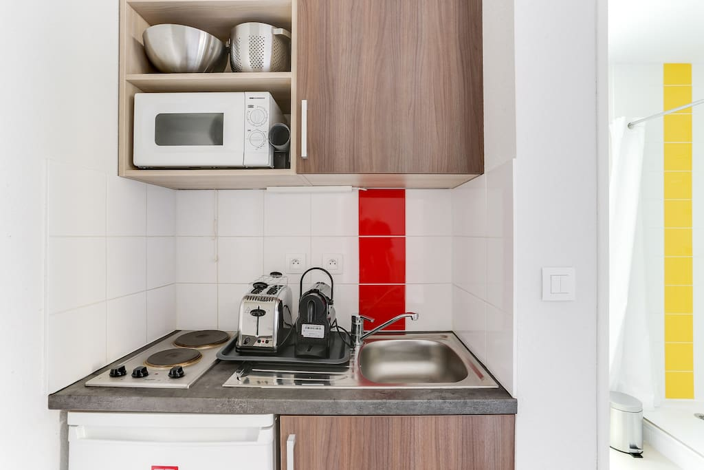 Equipped and functional kitchen