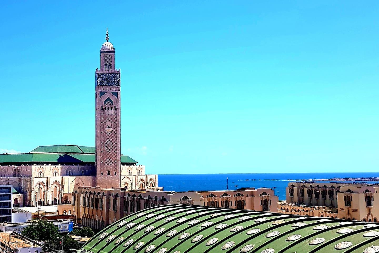 La Moschea Hassan II Oceano