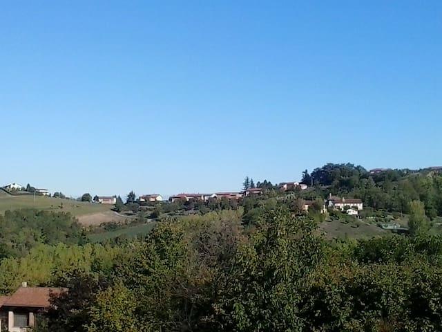 Ampio alloggio nel cuore del Monferrato