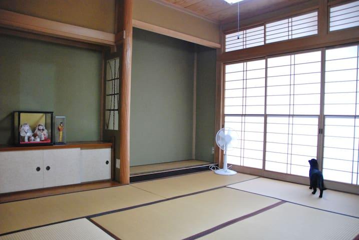 《1 room/2F Okuasiki》Nakaroku Aoso in Joetsu Takada