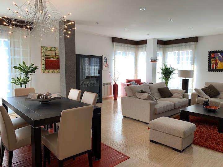 Apartamento Miramar .   Amplitud y Comodidad