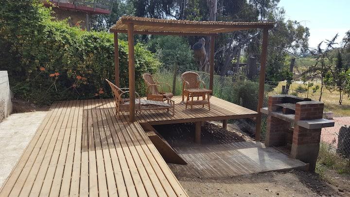Casa amplia y cómoda en Pichidangui Wifi