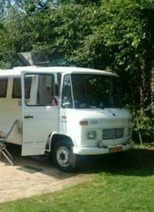 Mercedes 508d camper in Gambia :)