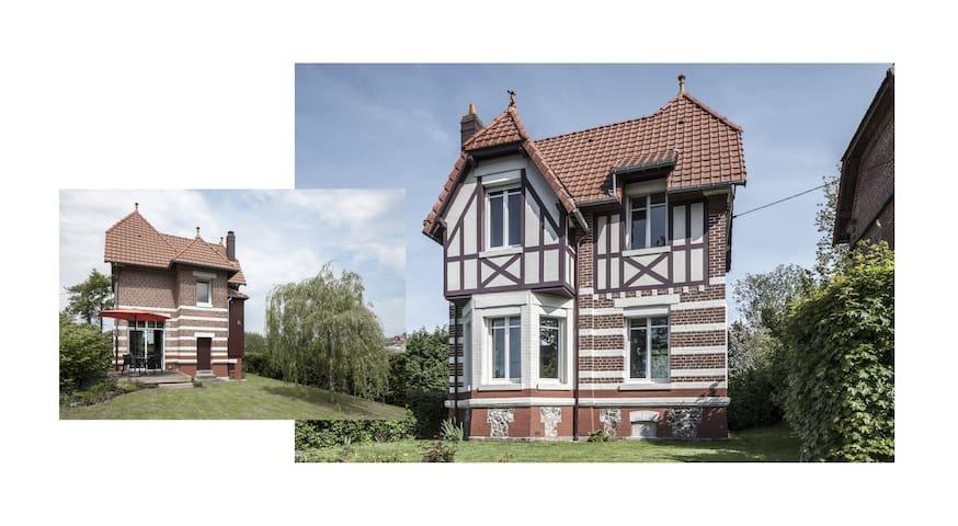 Villa 'Le Lièvre Salé', in Mesnil-Val Plage - Criel-sur-Mer - Huis