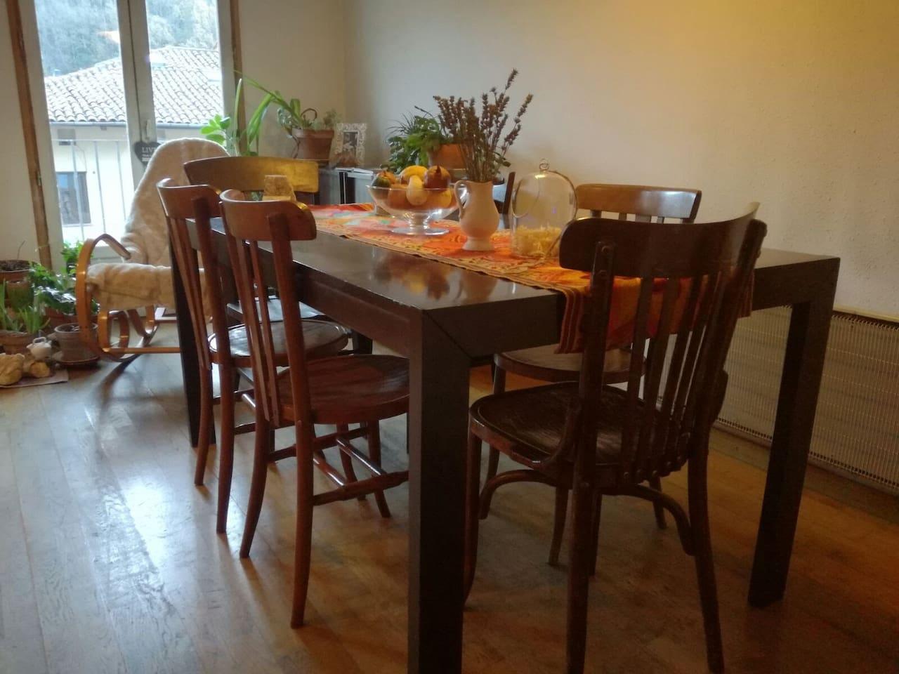 Menjador sala d'estar