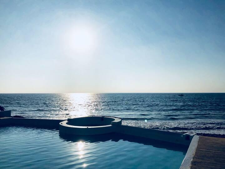 Apartamento 1er piso frente a mar Canoas Punta Sal
