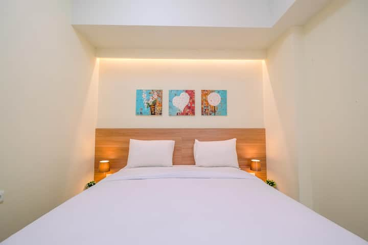 Elegant with Pool View 2BR @Mustika Golf Residence
