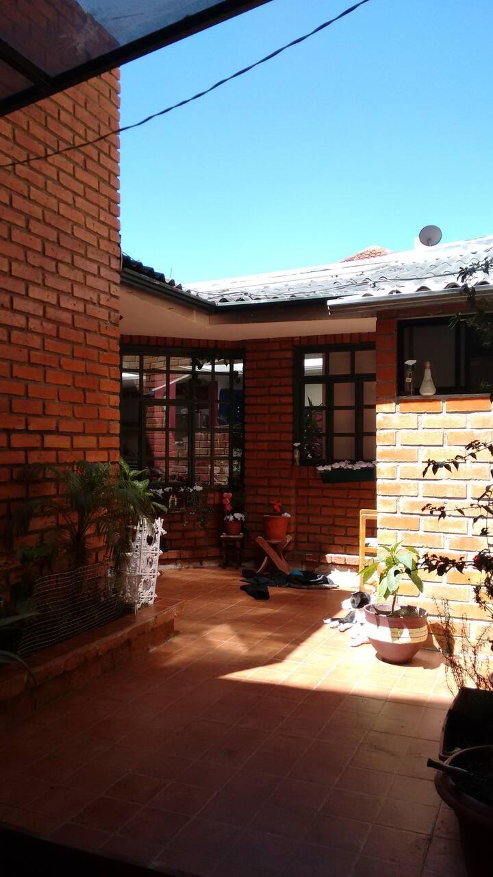 Cozy house type apartment ground floor