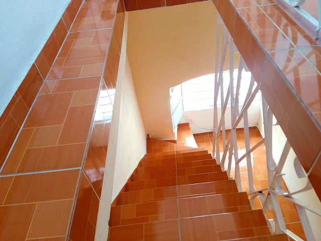 Stairs to Rental