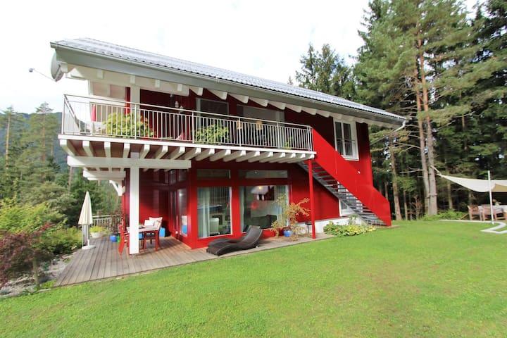 Appartamento di qualità superiore con area wellness, ai piedi del monte Petzen.