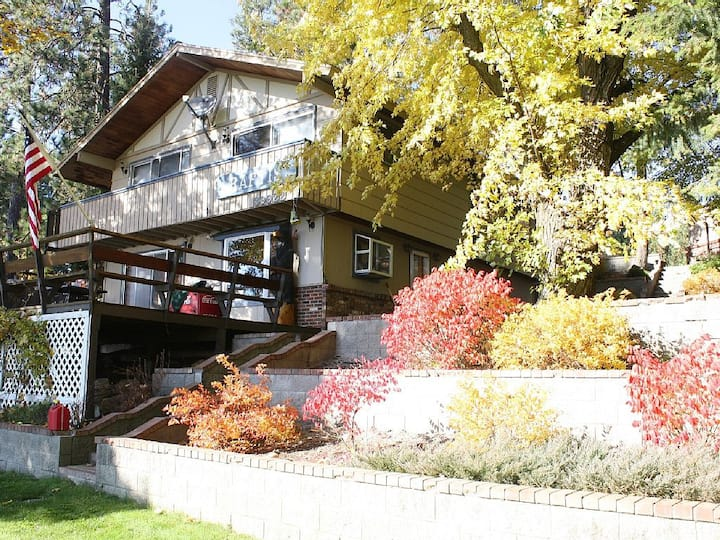 Spacious home on Loon Lake waterfront