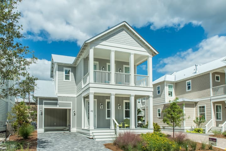 Grayt Paradise-NEW 3BR in Grayton Beach- Mar 18 to 21 $985! Comm.Pool!