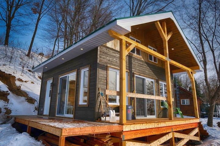 Petite maison sur la plage -Raquette-Rivière Rouge