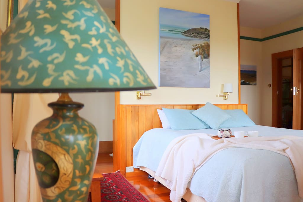 Relax and Unwind in boutique luxury - Bedroom 1 (with ensuite and private turret sitting area)