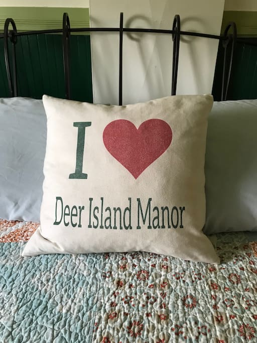 Welcome to Deer island Manor.