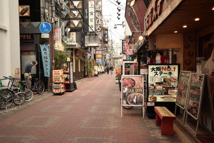 A2010/10min on foot to Namba/family/full rent/701
