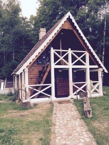 Very big lake house in Salakas