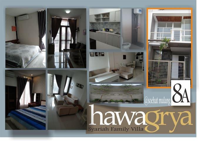 HAWAGRYA 8A SoekarnoHatta syariah family villa
