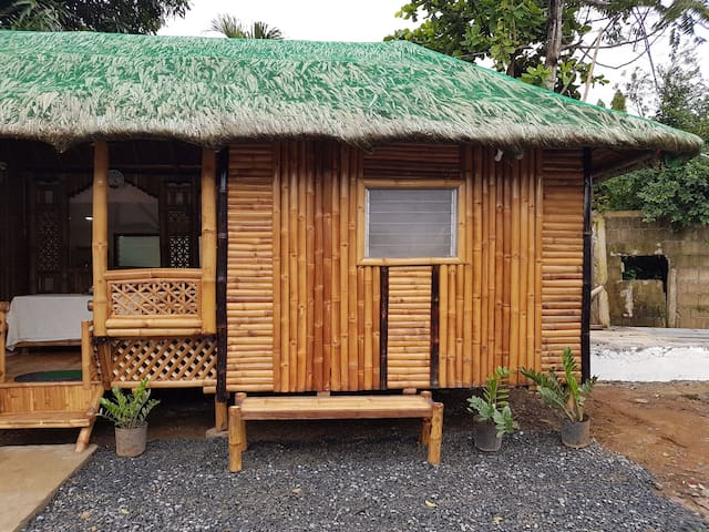 Bamboo Rm (B) with AC, hot shower and private CR