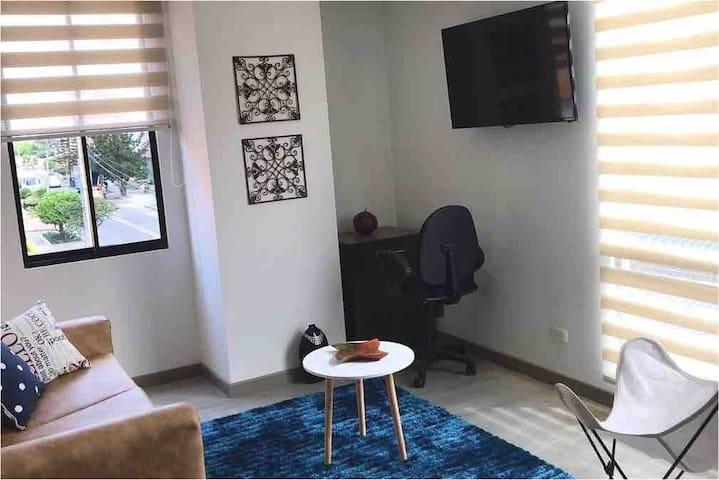 Moderno y acogedor apartamento nuevo en cedritos