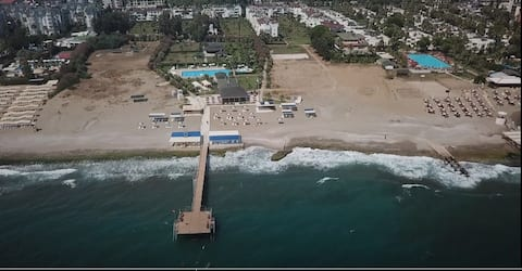 200m to the Private Beach and Town 24/7 Security