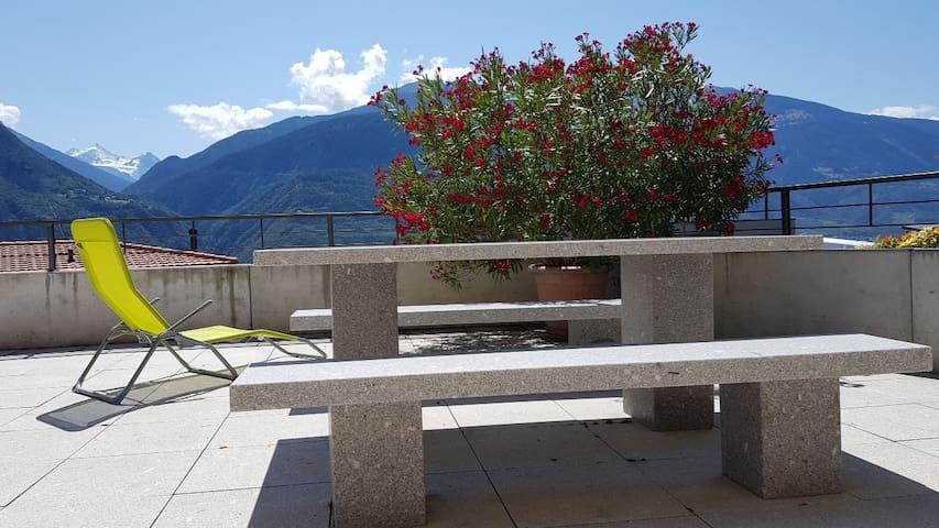 Envie d'un agréable séjour en Valais.
