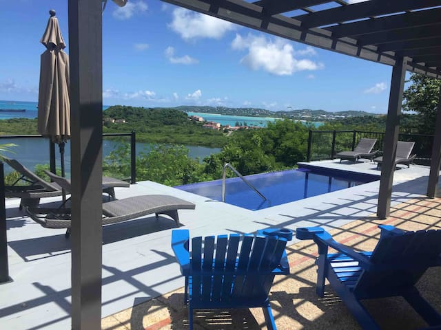 Bay View Villa With Infinity Pool by the Royalton