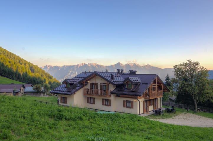 Vacanze immersi nella natura del Trentino Lagorai - Telve di Sopra - Huoneisto