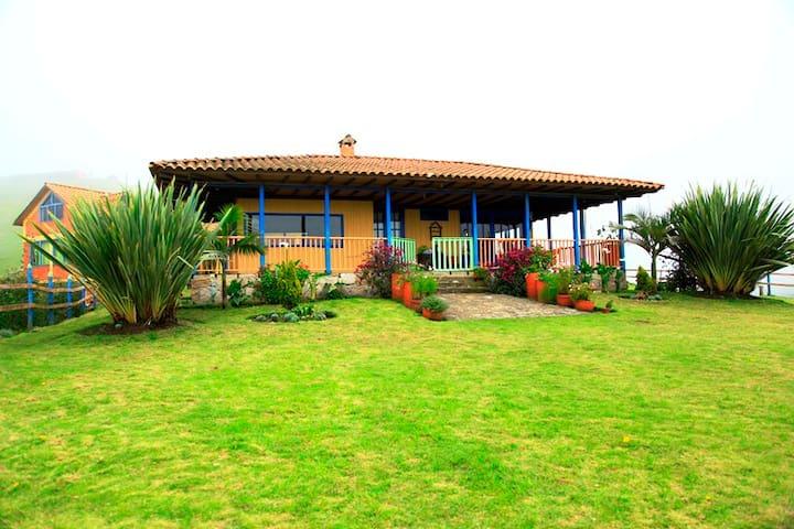 Finca Hacienda Caracoli - Zipacón - House