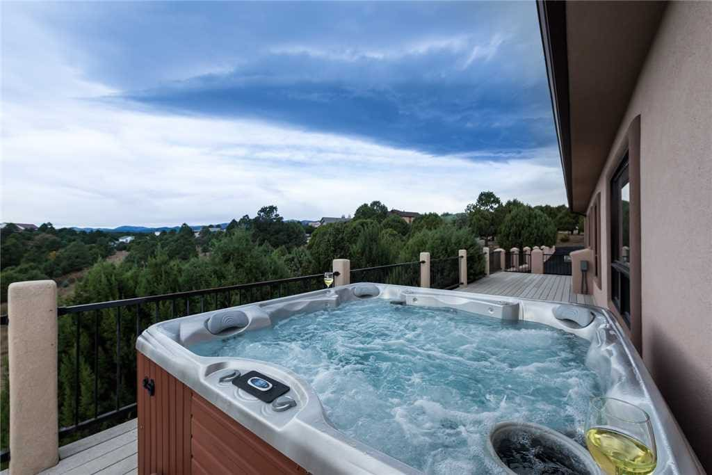 Soothing Waters - Imagine ending each day in the hot tub while you celebrate another perfect day on your vacation. After a long eventful day, the soothing waters will feel very good on your tired muscles.
