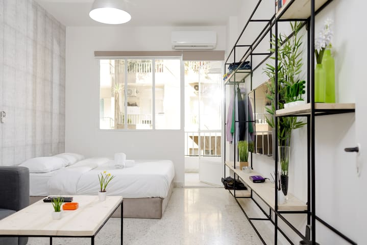 Simple and Bright Living Space