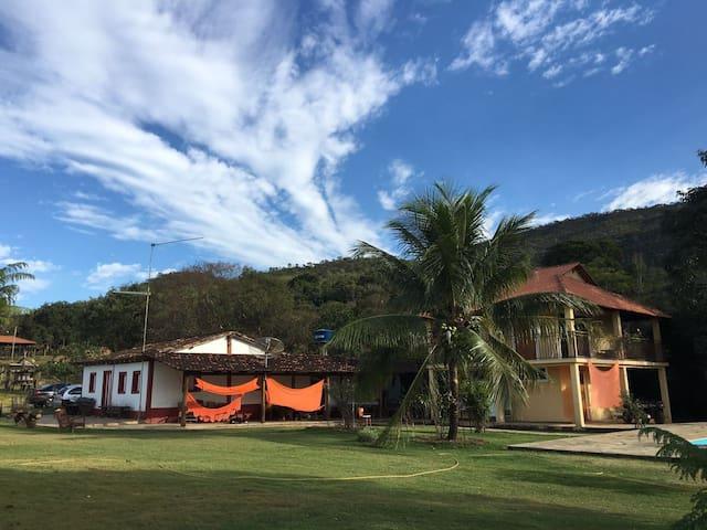 Morada da Serra-  Sítio  em Pirenópolis - Pirenópolis - Cabin