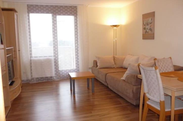 2-Zimmer-Wohnung. Concierge- und Frühstücksservice