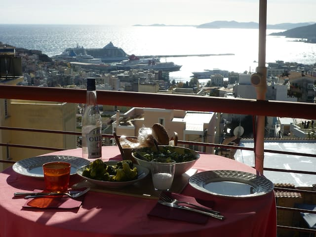 Apartment with amazing Views - Kavala - Apartmen