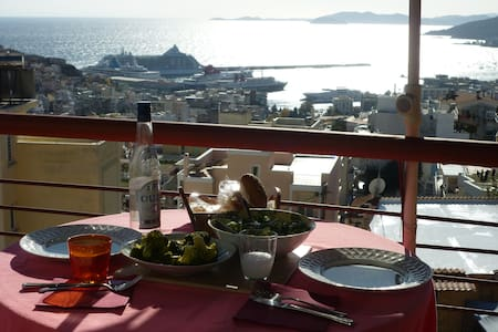 Apartment with amazing Views - Kavala - Daire