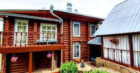 Новый дом с видом на Волгу