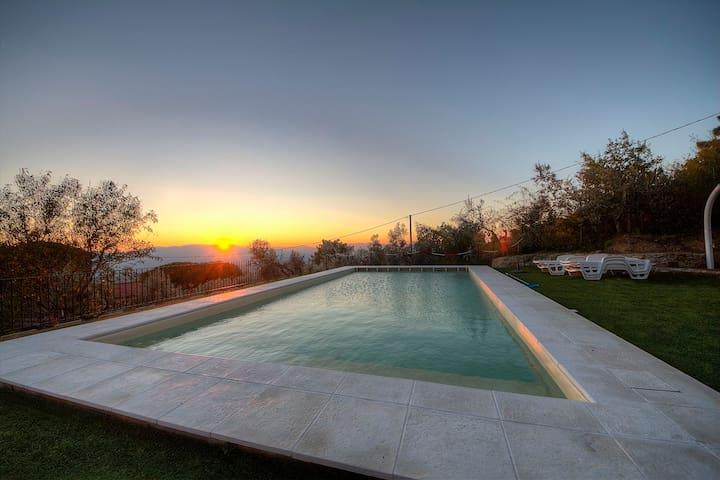 Casa vacanze  panoramica Reggello - reggello