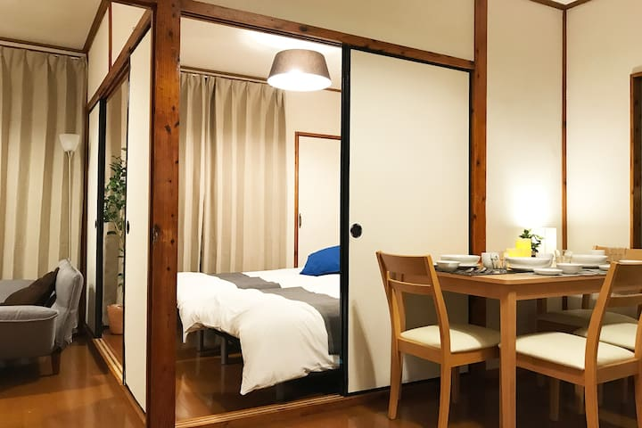 Free parking/Nago/Aquarium/North Okinawa/WiFi/18X