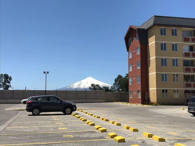 Depto Camino al volcán Villarrica