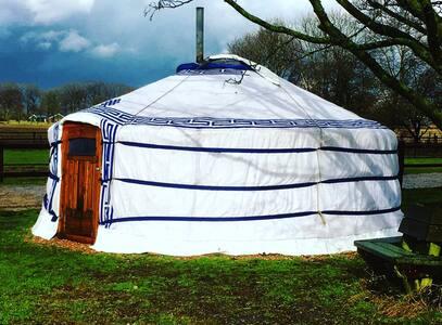 Mongoolse Yurt op knus pension aan bosrand/Veluwe - Vaassen - Jurta