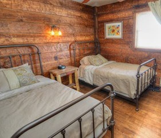 Modern Rustic Wisconsin Cabin