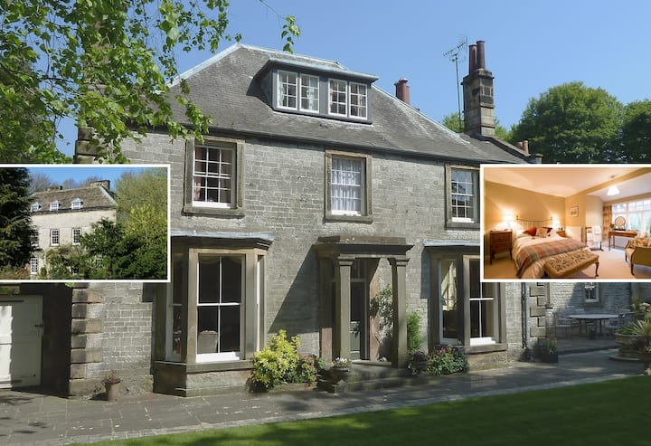 Old Vicarage B&B, Hall View Double Bed Own Bath