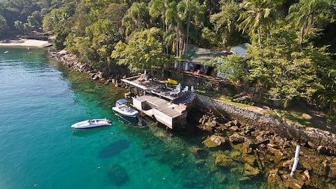 Ilha Grande - 4 suiter i paradis