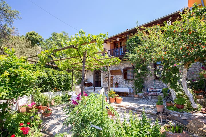 Trad. Stonehouse on Mountainvillage - Thasos - Casa