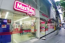 Max Value Supermarket opens 24 hours.