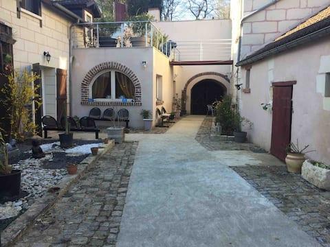 Les Essarts : maison atypique et évasion nature
