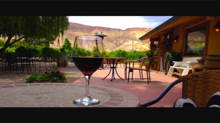 "Maison La Belle Vie winery ""loft"""