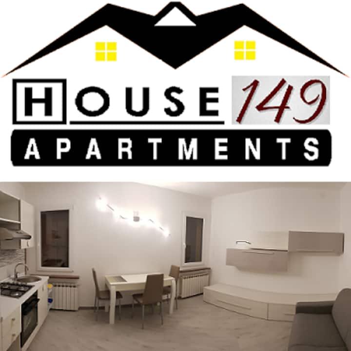 """""""House 149"""" Appartamento a due passi dal centro"""