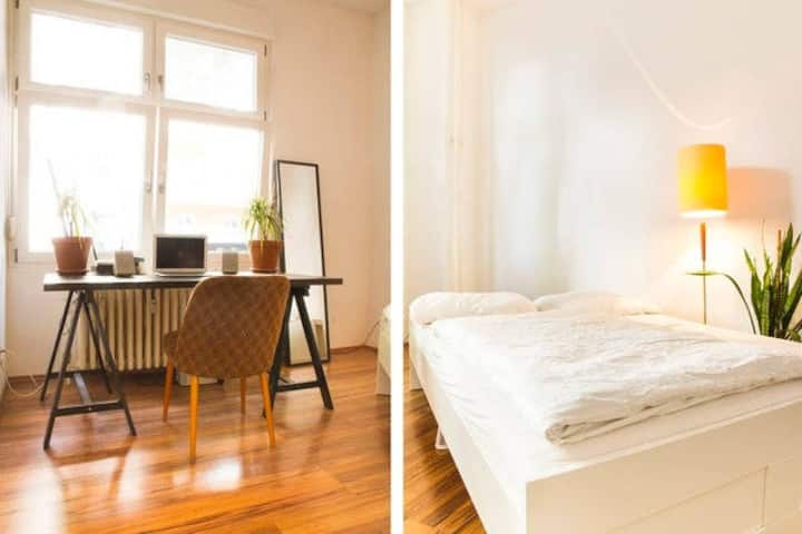 Spacious Room in Hippest Area | Bike included